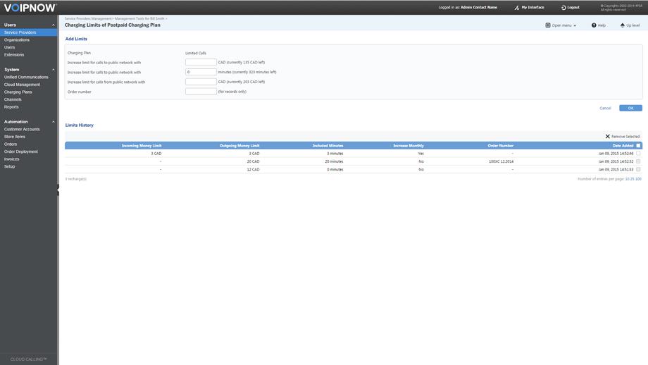 PBX Software Demo: VoipNow Demo - IP PBX software from 4PSA